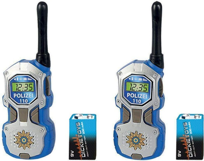 dickie toys walkie talkie polizei 201118181 starting from 2018 skinflint price. Black Bedroom Furniture Sets. Home Design Ideas