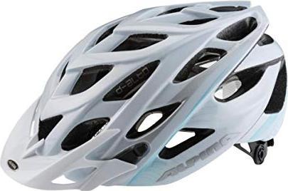 Alpina D-Alto Helmet white/blue/silver -- via Amazon Partnerprogramm