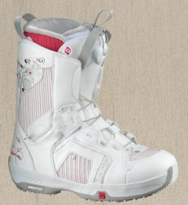 Salomon Pearl weiß Softboot (Damen)