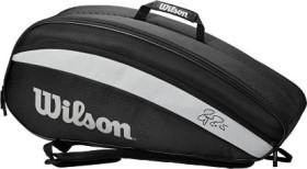 Wilson Federer Team 6 Pack Racket Bag rot/schwarz