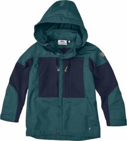 Fjällräven Keb Jacket glacier green/dark navy (Junior) (F80524-646-555)