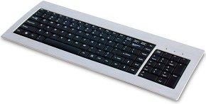 Cooler Master Cooler Q aluminiowy keyboard, aluminium, DE, USB (EAK-US1-DE)