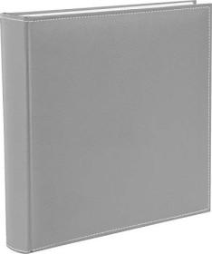 Goldbuch book Photo album Cezanne 30x31/100 white pages grey (31 809)