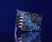 D-Link DFE-570TX, 4x 100Base-TX, PCI
