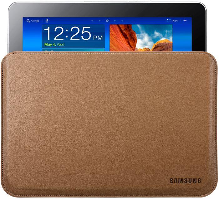 e746d584acb2c Samsung Schutzhülle für Galaxy Tab 10.1 Leder braun (EFC-1B1LCECSTD)