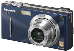 Panasonic Lumix DMC-FX5 blue