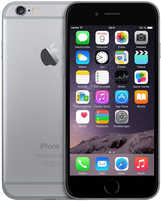 Apple iPhone 6 16GB grau