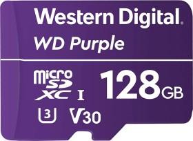 Western Digital WD Purple R80/W50 microSDXC 128GB, UHS-I U1, Class 10 (WDD128G1P0A)