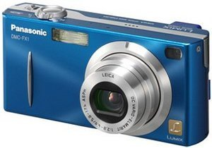 Panasonic Lumix DMC-FX1 niebieski