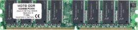 MDT DIMM 1GB, DDR-400, CL2.5