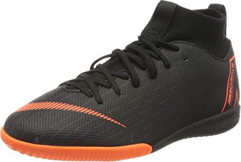 ce3d70df3 Nike MercurialX Superfly VI Academy Just Do It IC black white total ...