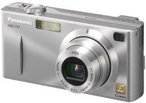 Panasonic Lumix DMC-FX1 srebrny