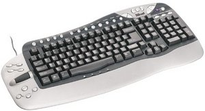 Trust KB-2100E Multimedia keyboard, PS/2 & USB (13160)