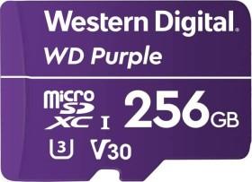 Western Digital WD Purple R80/W50 microSDXC 256GB, UHS-I U1, Class 10 (WDD256G1P0A)