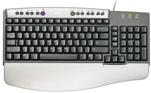 Trust KB-1300 Keyboard, PS/2, DE (12836/12877)