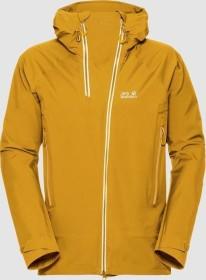 Jack Wolfskin Exolight Range ski jacket golden yellow (men) (1109841-3015)