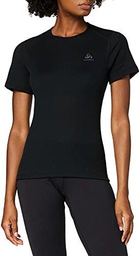 Odlo Damen Suw Top Crew Neck S//S Natural 100/% Merino Unterhemd