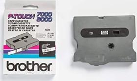 Brother TX-211 6mm, schwarz auf weiß (TX211)
