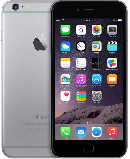 Apple iPhone 6 Plus  16GB grau