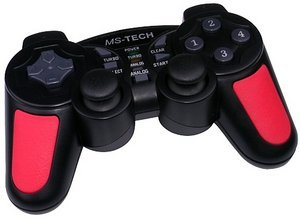 MS-Tech LS-15 Gamepad, USB (PC)