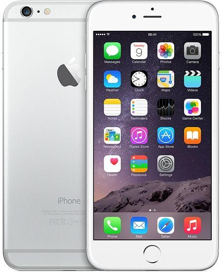 Apple iPhone 6 Plus 64GB silber