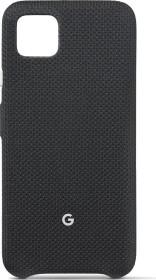 Google Fabric Back Cover für Pixel 4 XL just black (GA01276)