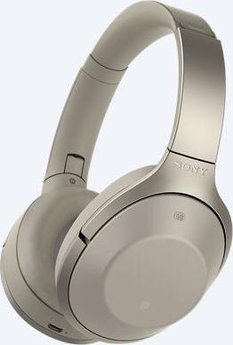 Sony MDR-1000X beżowy
