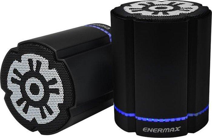 Enermax Stereotwin schwarz, Paar (EAS02S-DBK)