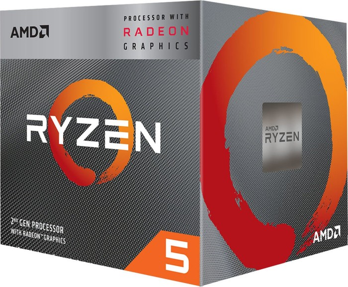 AMD Ryzen 5 3400G, 4x 3.70GHz, boxed (YD3400C5FHBOX)