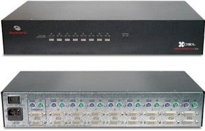 Avocent SwitchView SC8 DVI, 8-way (SC8PDV-20x)