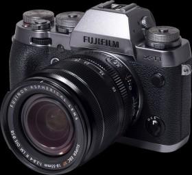 Fujifilm X-T1 silber mit Objektiv XF 18-55mm 2.8-4.0 R LM OIS