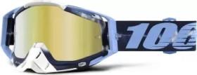 100% Racecraft Goggle tiedye/mirror gold lens (50110-179-02)