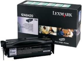 Lexmark Return Toner 12A8420 schwarz