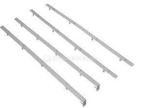 BitFenix Mesh-Stripes für Shinobi weiß (BFC-SNB-150-WX-SP) -- © caseking.de