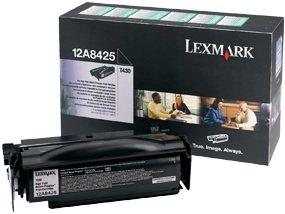 Lexmark 12A8425 Return Toner schwarz hohe Kapazität