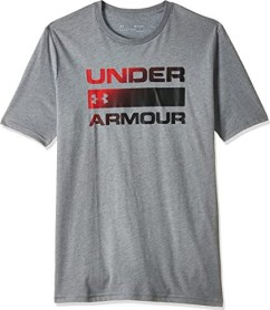 Under Armour Team Issue Wordmark Shirt kurzarm grau (Herren) (1329582-036)