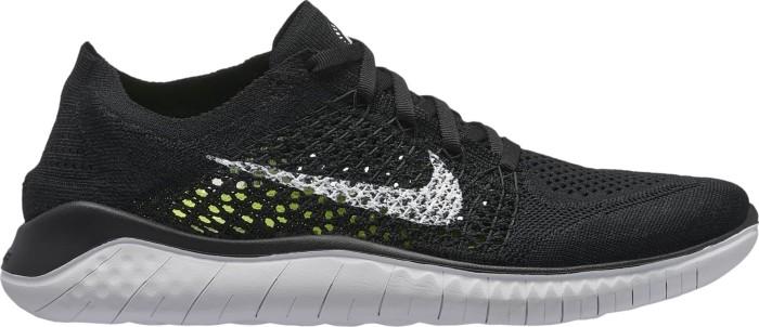 a few days away half price 50% price Nike Free RN Flyknit 2018 schwarz/weiß (Damen) (942839-001) ab € 107,90