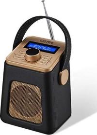 UEME Mini Digitalradio DAB+ schwarz (DB-318-BLACK)