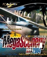 Flight Simulator 2004 - MegaScenery USA Vol.1 (Add-on) (niemiecki) (PC)