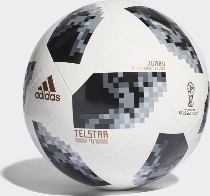 Adidas Football Telstar 18 Fifa Wm 2018 Jumbo Ball Cg1567 From 75 00