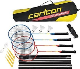 Dunlop Badminton set 4 pieces incl. net