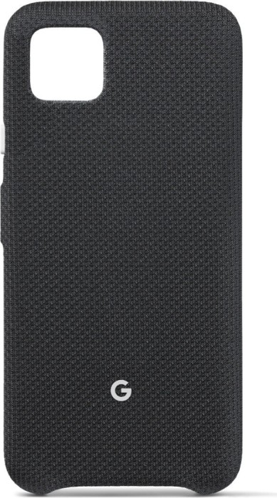 Google Fabric Back Cover für Pixel 4 just black (GA01280)