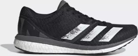 adidas adizero Boston 8 core black/cloud white/grey (Damen) (EG1168)