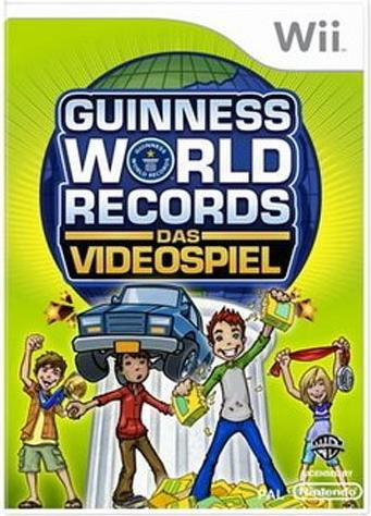 guinness game of world records german wii starting. Black Bedroom Furniture Sets. Home Design Ideas