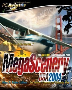 Flight Simulator 2004 - MegaScenery USA Vol.3 (Add-on) (niemiecki) (PC)