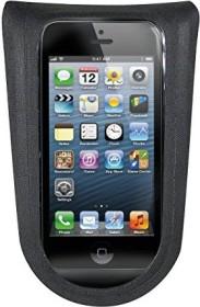 KLICKfix 0298PMS Phone Bag Plus M mit Adapter transparent sch mit Drehkupplung