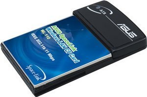 ASUS WL-110 Spacelink Wireless CompactFlash adapter, 11Mbps
