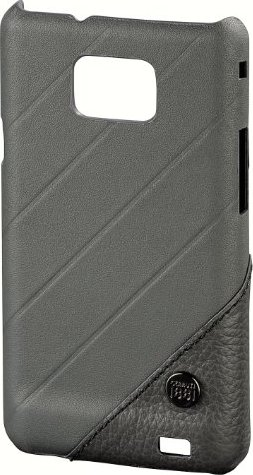 Cerruti 1881 mobile phone-Cover for Samsung Galaxy S II grey -- via Amazon Partnerprogramm