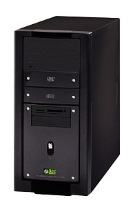 chiliGREEN Serrano AMD Athlon XP 2800+, 512MB RAM (various types)