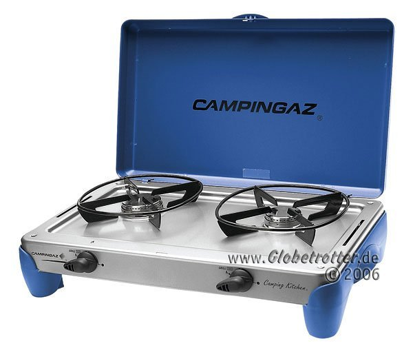 Campingaz Camping Kitchen grill gas cooker -- ©Globetrotter 2006